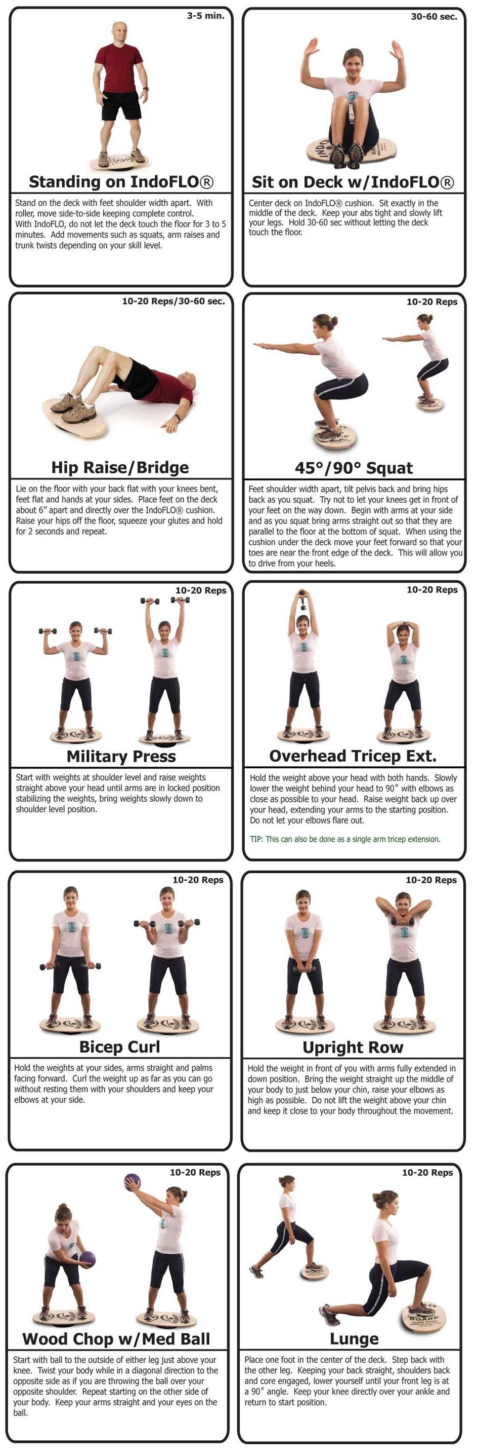 IndoFLO Exercises | IndoBoards Australia – The Original ...
